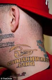 на всю жизнь с рекламой 15 фото реклама реклама татуировка тело