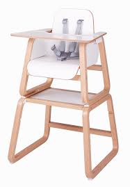 luxury wooden high chair converts to table and chair portrait