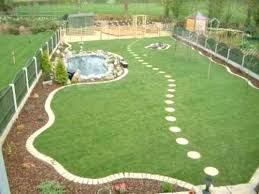 Small Picture Awesome Landscaping Ideas For Large Gardens Pictures Home