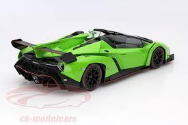 lamborghini veneno roadster green. lamborghini veneno roadster year 2014 green red 118 kyosho w