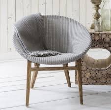 frank hudson lloyd loom light grey tub chair