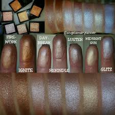 here s all 7 of the new signature makeup geek cosmetics highlighters