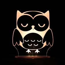 my dream light childrens led night light owl