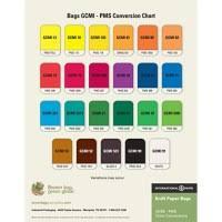 Gcmi Color Chart Gcmi Colors On Kraft