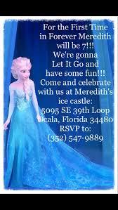 Frozen Birthday Invitations Sooooo Cute Frozen