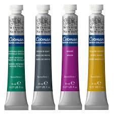 Cotman Watercolours Single Tube 8 Ml Fine Arts Mart Fifty Srl