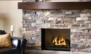 cultured stone fireplace ideas design