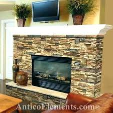 faux stone fireplace mantels faux stone fireplace surround faux rock fireplace with white mantel with regard