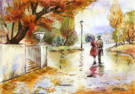 Image result for autumn windy moon images and drawings