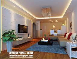 Small Picture Top 10 Suspended ceiling tiles designs and lighting for living room