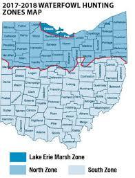 Waterfowl Migratory Bird Hunting Ohio Hunting Seasons