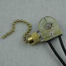 zing ear switch zing ear ze 109 pull chain switch ceiling fan light brass new