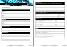 Employee Profile Sample Team Template Sample Employee Profile Harezalbaki Co