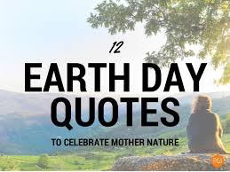 Earth Quotes Adorable Earth Day Quotes