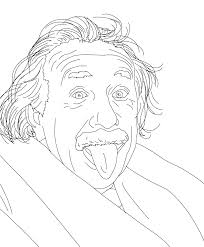 Small Picture Albert Einstein Coloring Pages olegandreevme