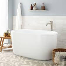 some homes may lack the heating ability to keep an ultra deep soaking tub warm be sure to also ask about the gallons of water the tub will hold to help