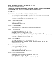 Mid Term Study Guide Blade Mgmt 404 Project Management