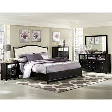 Modern Sleigh Bedroom Sets 3pc Modern Queen Bedroom Sets Panel Bed Design Contemporary Sleigh