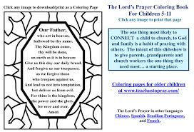 Ppt Free Printable Lords Prayer Coloring Pages Powerpoint