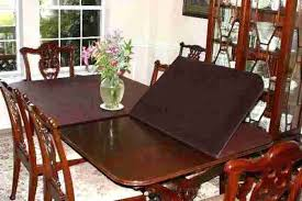 custom dining room table pads. Beautiful Custom Dining Room Table Protector Pads Covers  Top Custom And N