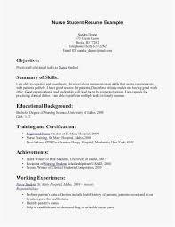 Graduate Nurse Resume Best Of New Graduate Rn Resume Template 12