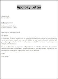Sample Business Letter Unique Personal Apology Letter Write A Personal Apology Letter Or A