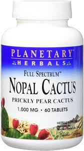 Planetary Herbals Full Spectrum Nopal Cactus ... - Amazon.com