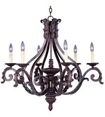maxim lighting morocco 6 light single tier chandelier in windsor bronze 20676wb