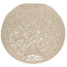 stanford home woven ball pendant light shade
