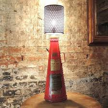 classic fire extinguisher lamps by reupcycled