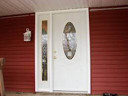 home depot front doors with sidelightsFront Doors  Sidelight Window Covering For Front Door Stained