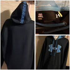 under armour 3xl hoodie. under armour black sweatshirt hoodie 3xl loose turquoise accents classy 029-29 3xl s