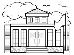 Small Picture Small School Coloring Page