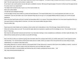 Resume:Uptowork Amazing Automatic Resume Creator .