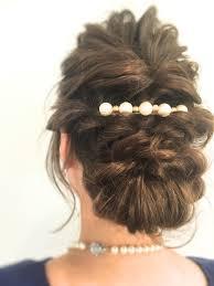 出雲 結婚式 編み込みヘアアレンジ ブログ Abbellireアッベリーレ