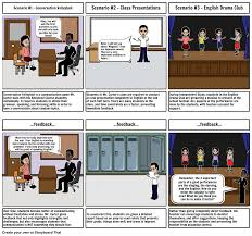 mua specific feedback and praise storyboard
