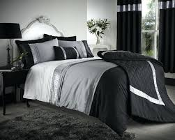 silver bedding king size contemporary french bedroom design with king size duvet covers and black grey silver bedding set