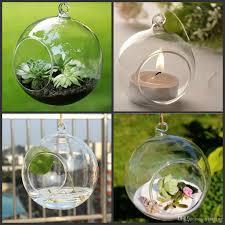 box tea light holder 80mm glass air plant terrariums hanging glass orb candle holder for wedding candlestick garden decor home decor candles holders glass