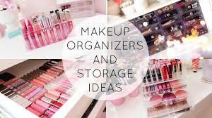 makeup organization and storage ideas