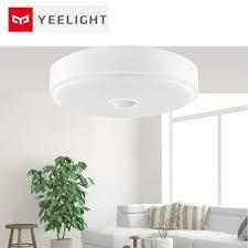 Yeelight Led Motion Sensor Ceiling Light Original Mi Yeelight 10w Smart Led Motion Sensing Flush Ceiling Light With 670lm 5700k Motion Detector