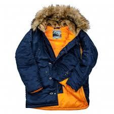 <b>Куртка</b> Аляска Nord DENALI Storm <b>Husky</b> N-3B 2019 г. (синяя ...