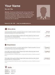 Free Resume Templates Download Geeknicco Word In 85 Appealing