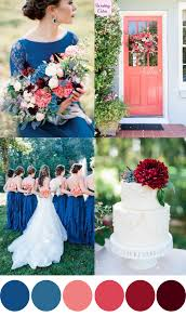 a royal blue, coral & cranberry wedding palette royal blue Wedding Colors Royal Blue And Pink a royal blue, coral & cranberry wedding palette royal blue and pink wedding colors