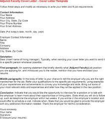 adjunct instructor cover letter sample adjunct professor cover sample cover letter adjunct instructor