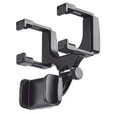<b>Leehur</b> Rearview Mirror <b>Car</b> Holder for 3.5 5.5 inch 360 Rotation ...