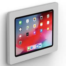 fixed slim vesa wall mount ipad 11 inch ipad pro light grey