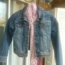 Old Navy Girls Denim Jacket Sz 8