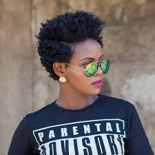 Short Natural Hair Style For Black Women 2 day old bantu knot out by sheilandinda tapered cut short 3530 by wearticles.com