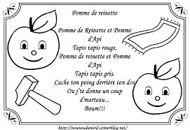 Pomme De Reinette Colorier