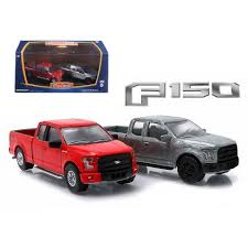 2015 Ford F-150 Pickup Trucks Hobby Only Exclusive 2 Cars Set 1/64 ...